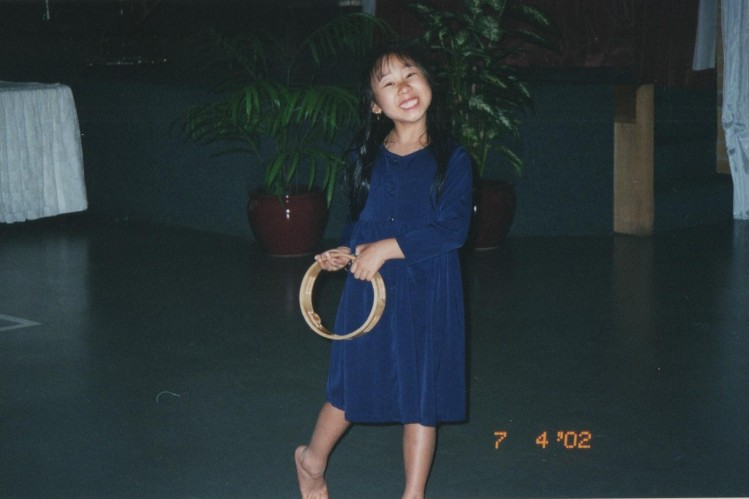 7-year-old me looking so enthusiastic