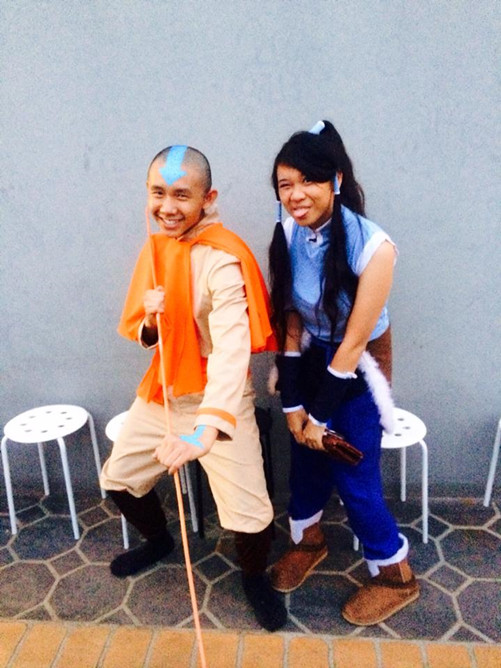 Every time this photo gets put on Facebook someone - without fail - mistakes me for Katara.