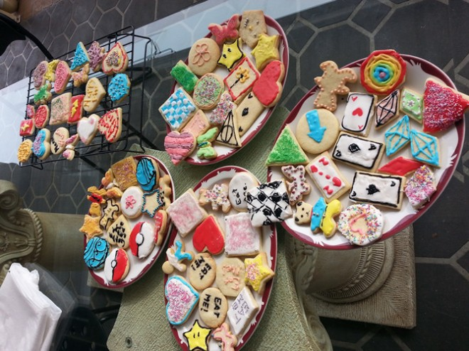 Cookies! aka. how many fandoms can you spot?